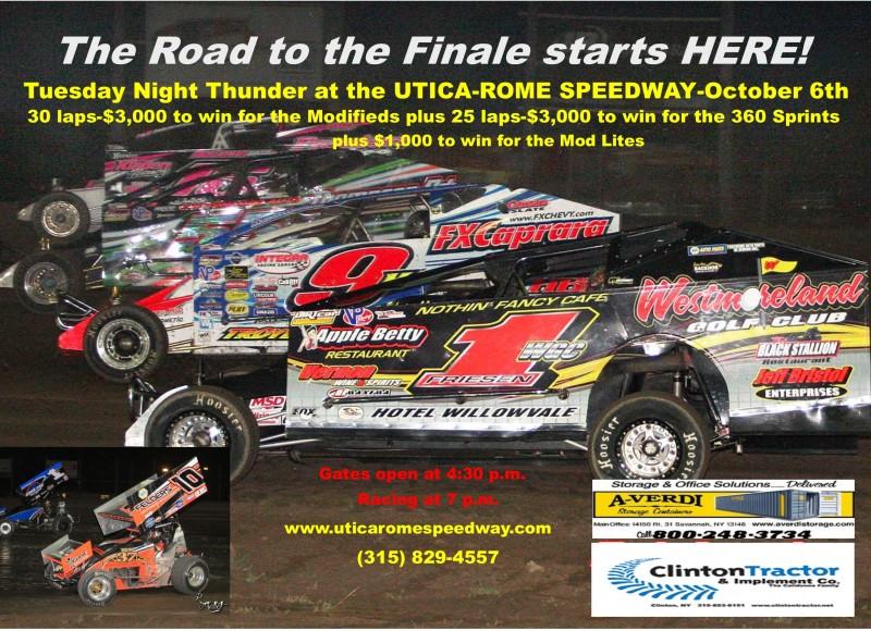 Mike Mallett Utica Rome Speedway Central New York S