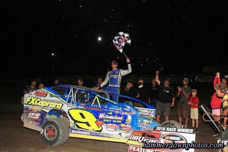 Matt sheppard takes another big money win at utica rome for Victory motors rome ny